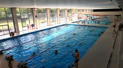 Accès à la piscine suspendu le jeudi et le samedi
